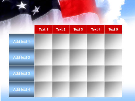 American Flag PowerPoint Template Slide 15