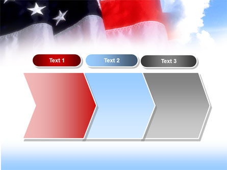 American Flag PowerPoint Template Slide 16