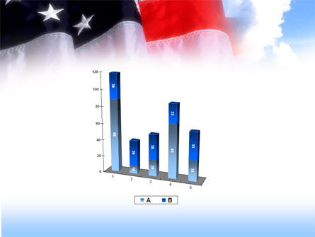American Flag PowerPoint Template Slide 17