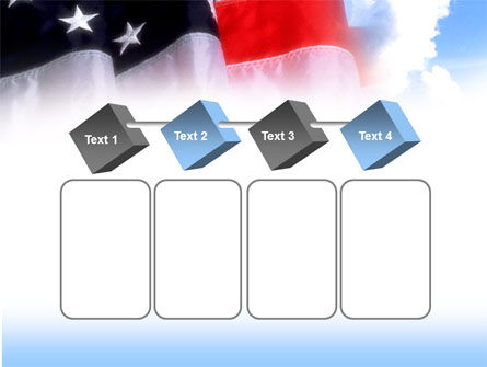American Flag PowerPoint Template Slide 18