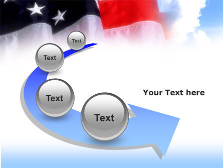 American Flag PowerPoint Template Slide 6