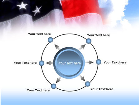 American Flag PowerPoint Template Slide 7