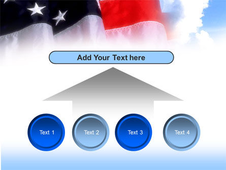 American Flag PowerPoint Template Slide 8