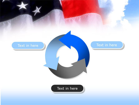 American Flag PowerPoint Template Slide 9