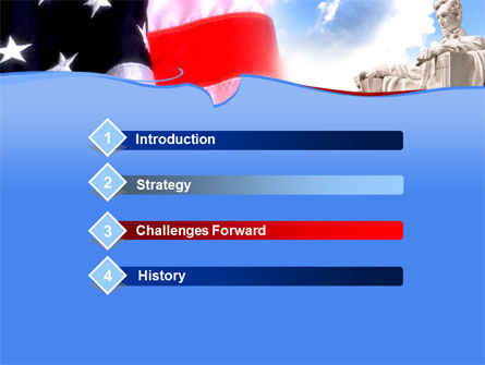 Capitol PowerPoint Template, Slide 3, 00052, America — PoweredTemplate.com