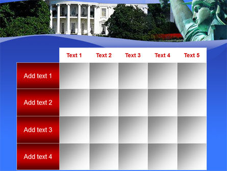 White House Free PowerPoint Template Slide 15