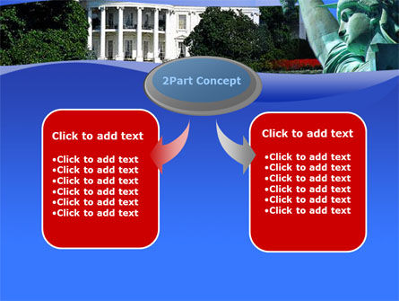 White House Free PowerPoint Template, Slide 4, 00054, America — PoweredTemplate.com
