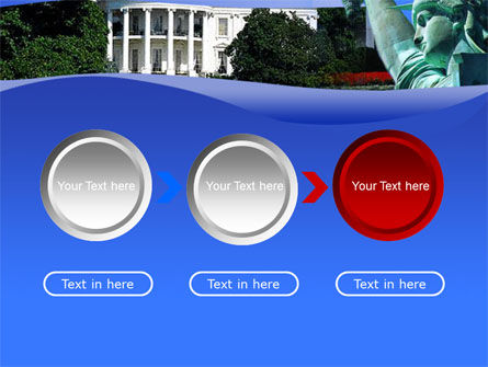 Free White House PowerPoint Template Slide 5