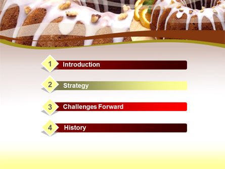 Pie PowerPoint Template, Slide 3, 00055, Food & Beverage — PoweredTemplate.com