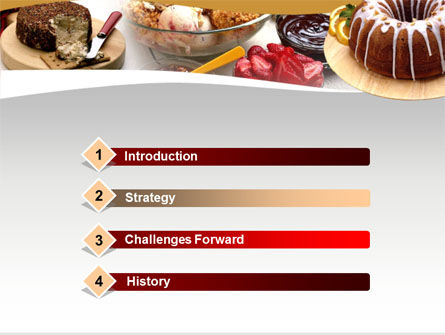 Breakfast PowerPoint Template, Slide 3, 00057, Food & Beverage — PoweredTemplate.com