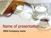 Food & Beverage: Breakfast PowerPoint Template #00057