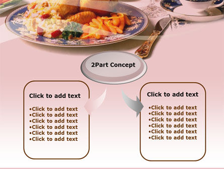 Supper PowerPoint Template, Slide 4, 00058, Food & Beverage — PoweredTemplate.com