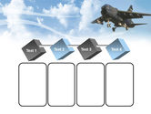 Aircraft Free PowerPoint Template#18