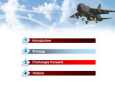 Aircraft Free PowerPoint Template#3