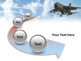 Aircraft Free PowerPoint Template#6