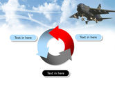 Aircraft Free PowerPoint Template#9