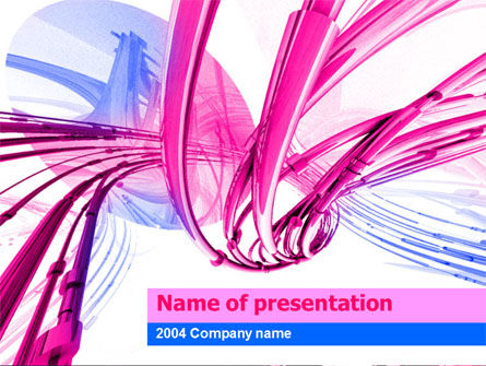 Free Wires PowerPoint Template