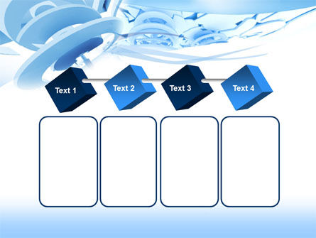 Fragmented PowerPoint Template Slide 18