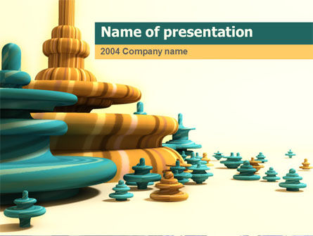 Future Vision PowerPoint Template, 00067, Abstract/Textures — PoweredTemplate.com