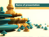 Abstract/Textures: Toekomst Visie PowerPoint Template #00067