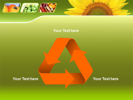 Sunflower PowerPoint Template Slide 10