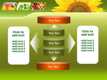 Sunflower PowerPoint Template Slide 13