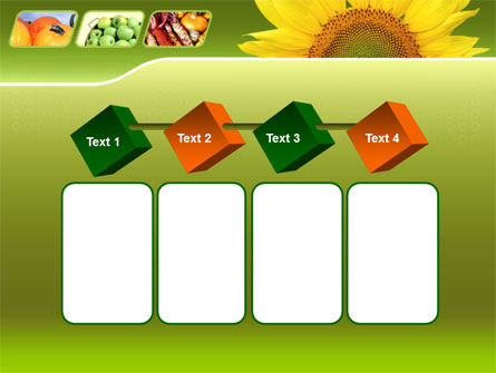 Sunflower PowerPoint Template Slide 18