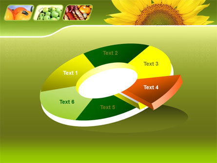Sunflower PowerPoint Template Slide 19