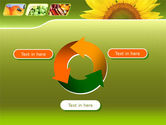 Sunflower PowerPoint Template#9