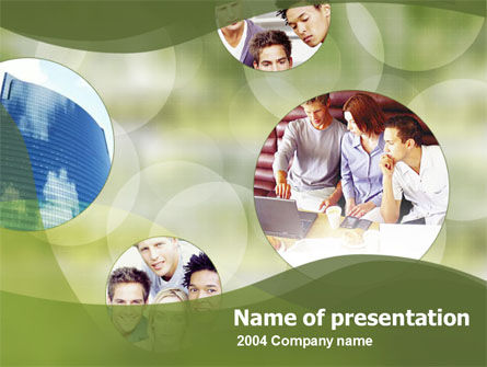 Education & Training: Group Work PowerPoint Template #00074