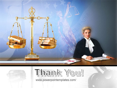 Public Justice PowerPoint Template Slide 20