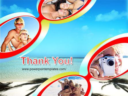 Free Beach PowerPoint Template Slide 20