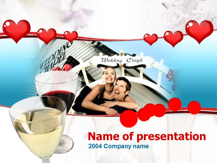 Wedding Chapel PowerPoint Template, 00079, Holiday/Special Occasion — PoweredTemplate.com