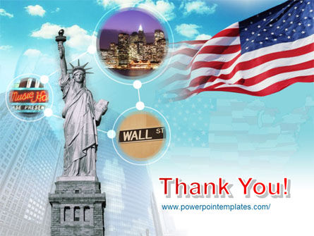 Statue of Liberty PowerPoint Template Slide 20