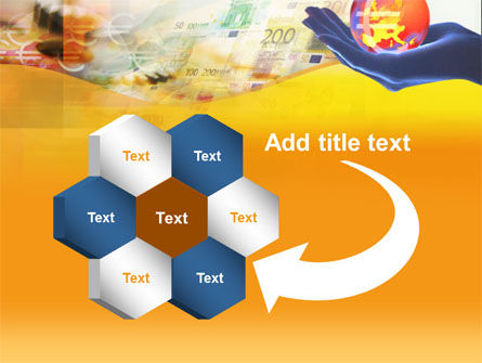 Yellow Colored Euro Currency PowerPoint Template Slide 11