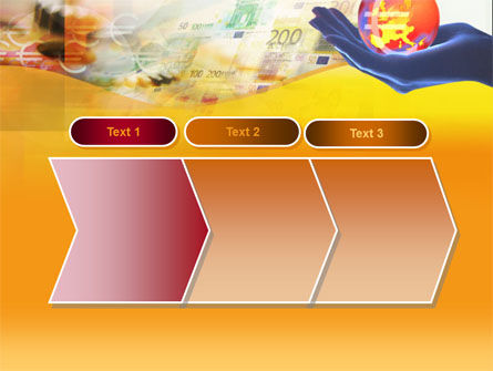 Yellow Colored Euro Currency PowerPoint Template Slide 16