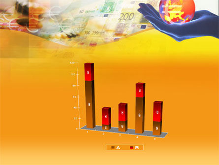 Yellow Colored Euro Currency PowerPoint Template Slide 17