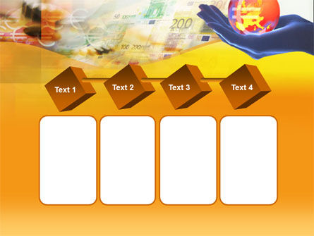 Yellow Colored Euro Currency PowerPoint Template Slide 18