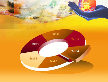 Yellow Colored Euro Currency PowerPoint Template Slide 19