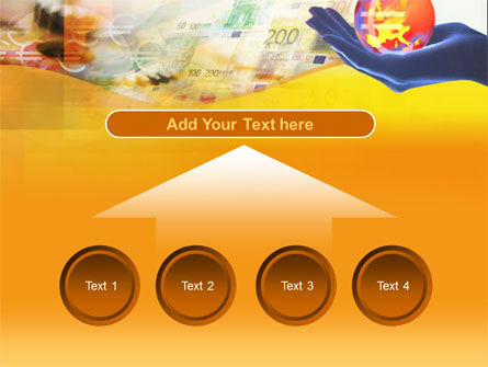 Yellow Colored Euro Currency PowerPoint Template Slide 8