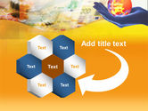 Yellow Colored Euro Currency PowerPoint Template#11