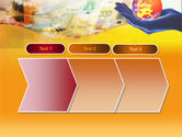 Yellow Colored Euro Currency PowerPoint Template#16