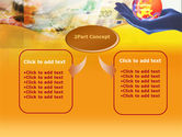 Yellow Colored Euro Currency PowerPoint Template#4