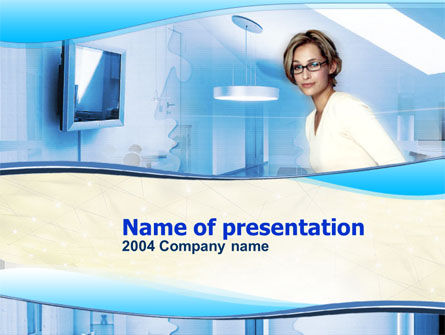 Consulting: Interior PowerPoint Template #00082