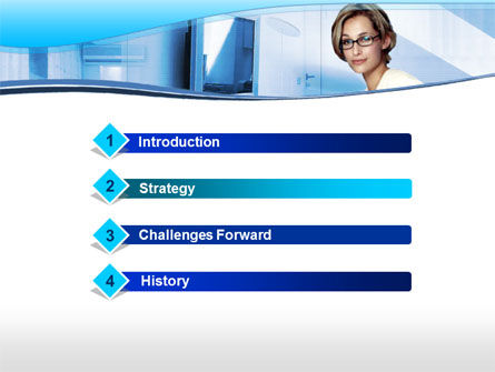 Interior PowerPoint Template, Slide 3, 00082, Consulting — PoweredTemplate.com