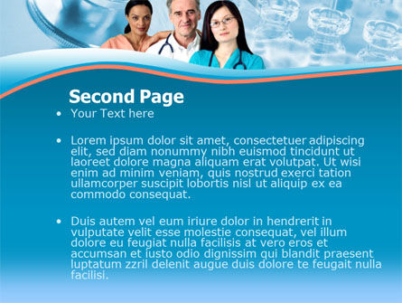 Medical Staff On Duty PowerPoint Template, Slide 2, 00083, Medical — PoweredTemplate.com