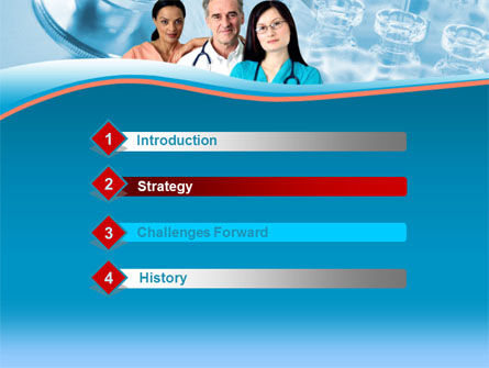 Medical Staff On Duty PowerPoint Template, Slide 3, 00083, Medical — PoweredTemplate.com