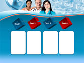 Medical Staff On Duty PowerPoint Template#18