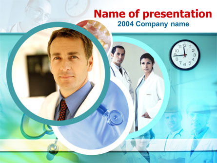 Medical Presentation PowerPoint Template, 00084, Medical — PoweredTemplate.com