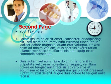 Medical Presentation PowerPoint Template, Slide 2, 00084, Medical — PoweredTemplate.com